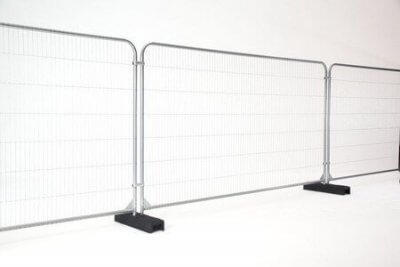 Fence panels and barriers