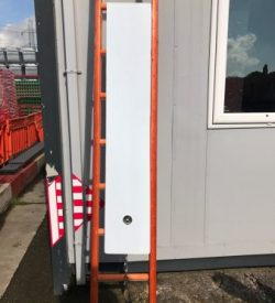 Universal Ladder Guard c/w Chain and Pad Lock
